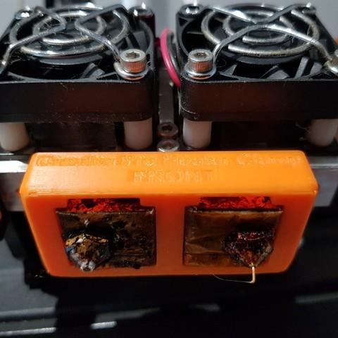 69ec89914f8ff20f25dd3f450672f2e2_display_large.jpg Télécharger fichier STL gratuit Creator Pro - Collier de serrage du bloc chauffant (pour le changement de buse) • Objet pour imprimante 3D, 3D-Designs