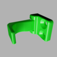 Download free STL file Simple hinged print-in-place door/gate retainer • 3D printer design, 3D-Designs