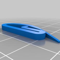 Download free STL file Swish curtain hook • 3D printer model, 3D-Designs