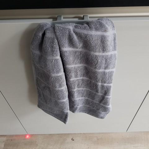 20180911_170003.jpg Télécharger fichier STL gratuit Porte-serviettes de cuisine à suspendre • Plan imprimable en 3D, 3D-Designs