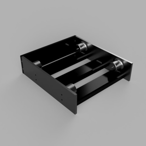 9cebe0028918bfcdae36159a9b16b3da_display_large.jpg Download free STL file Drive bay adapter - screwless! • 3D printing template, 3D-Designs