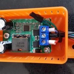 20200906_154047.jpg Download STL file Extrusion mount case for 5V 25W DCDC convertor • 3D printer object, 3D-Designs