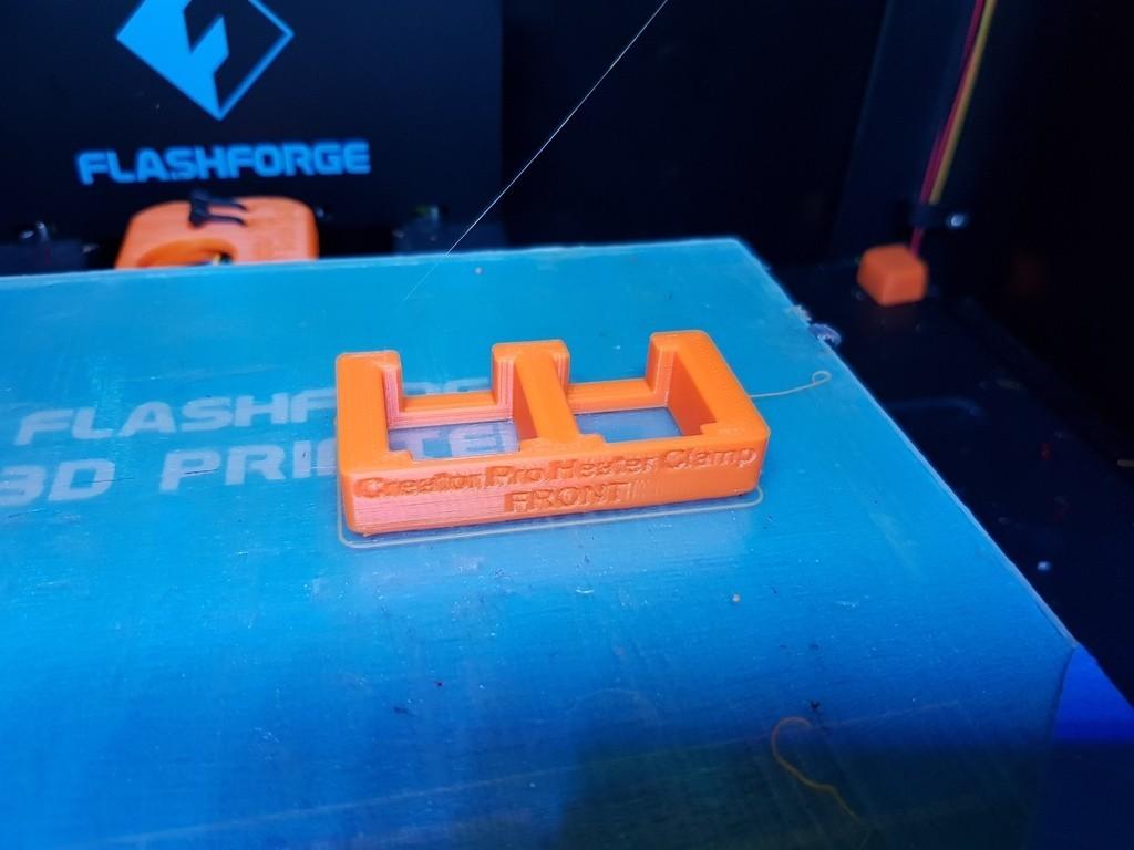 cb6029e4841e8a4a91a01c235eb88f00_display_large.jpg Télécharger fichier STL gratuit Creator Pro - Collier de serrage du bloc chauffant (pour le changement de buse) • Objet pour imprimante 3D, 3D-Designs