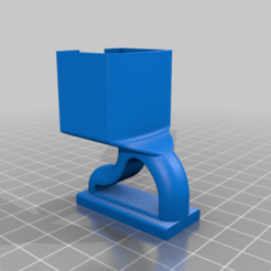 Osmo_Pocket_Cold_Shoe_Adapter.png Download free STL file Cold shoe mount for Osmo Pocket • 3D print object, 3D-Designs