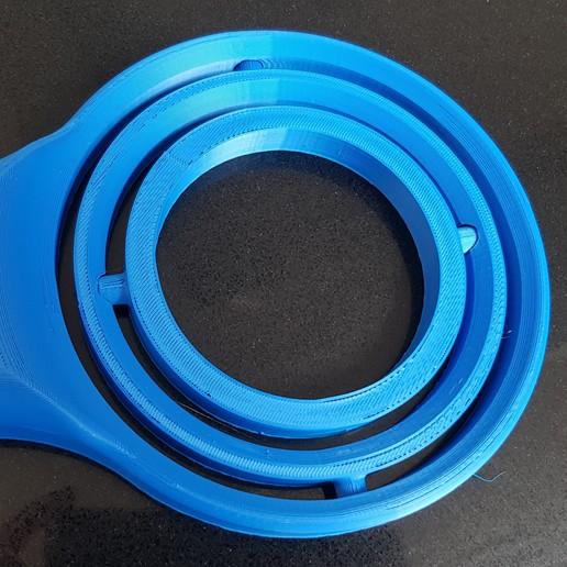 20200412_142636.jpg Download STL file Self-righting gimballed drinks holder - 2020 Pint Glass Version • 3D printable template, 3D-Designs