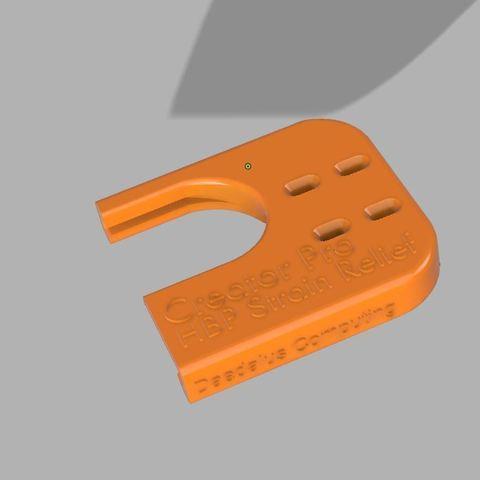 c551d7bc785311459a0df5c405c5e79c_display_large.JPG Télécharger fichier STL gratuit Creator Pro - Soulagement de la déformation HBP • Modèle pour imprimante 3D, 3D-Designs