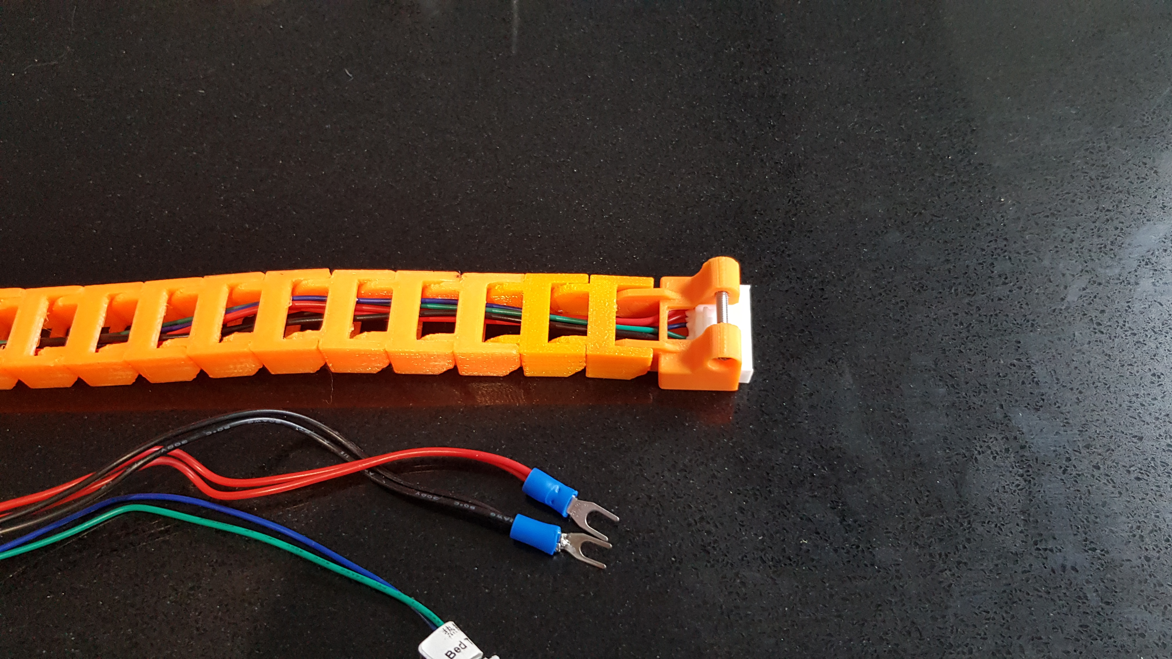 20191103_122351.jpg Télécharger fichier STL gratuit Anet A8 Plus Y chariot en Y (HBP) montage en chaîne à câble • Plan à imprimer en 3D, 3D-Designs