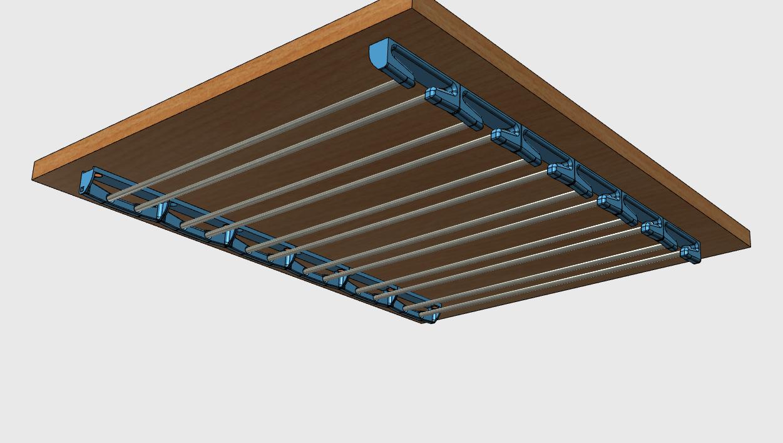 sv8.png Download free STL file Glass door • Template to 3D print, JMC3D