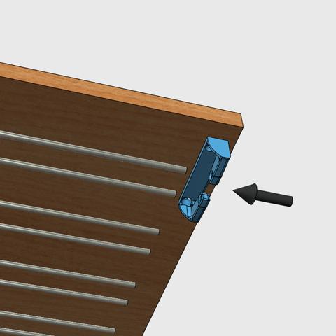 sv6.png Download free STL file Glass door • Template to 3D print, JMC3D