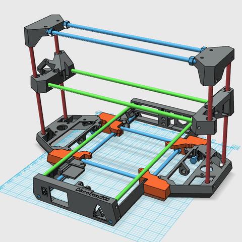 Free 3D printer model DiscoEasy200 XL, JMC3D