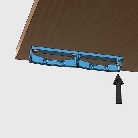sv3.png Download free STL file Glass door • Template to 3D print, JMC3D