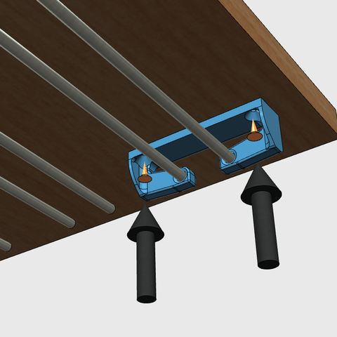sv5.png Download free STL file Glass door • Template to 3D print, JMC3D