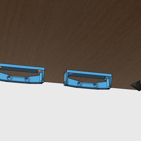 sv2.png Download free STL file Glass door • Template to 3D print, JMC3D