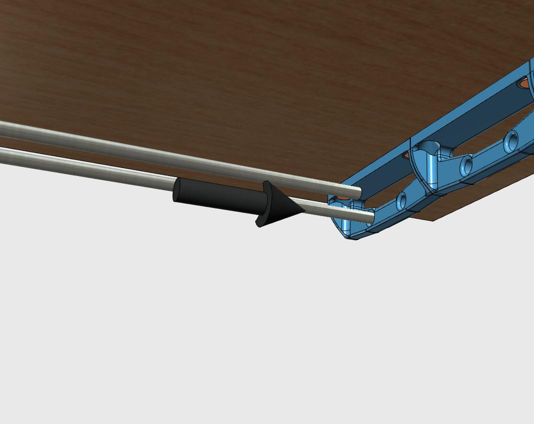 sv4.png Download free STL file Glass door • Template to 3D print, JMC3D