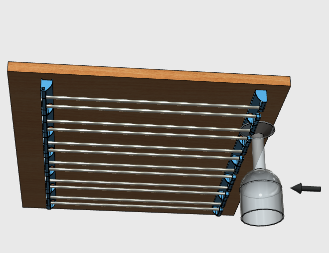 sv9.png Download free STL file Glass door • Template to 3D print, JMC3D