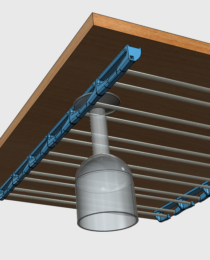 sv10.png Download free STL file Glass door • Template to 3D print, JMC3D