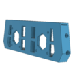 Free 3D printer model Back side DidcoEasy double extruder reinforced, JMC3D