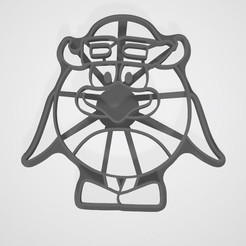Download 3D printer templates  Smeshariki from cartoons Pin cookies, lasersun3d