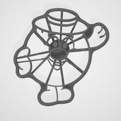 3D print model  Smeshariki from cartoons Kopatich cookies, lasersun3d
