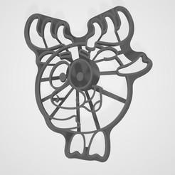 Descargar STL Smeshariki de dibujos animados Losyash cookies, lasersun3d