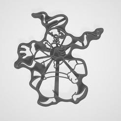 Imprimir en 3D gratis Sello Kozak + corte para galletas, lasersun3d