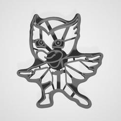 Imprimir en 3D Héroes de los cortadores de galletas con máscaras, lasersun3d