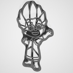 STL files Heroes in Masks Cookie Cutters, lasersun3d