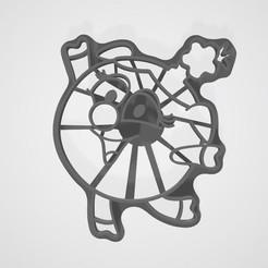 Descargar archivos STL Smeshariki de dibujos animados galletas Nyusha, lasersun3d
