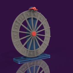 ruleta.png Download STL file roulette • Model to 3D print, mqlbs311