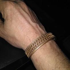 Free 3D printer model bracelet, mqlbs311