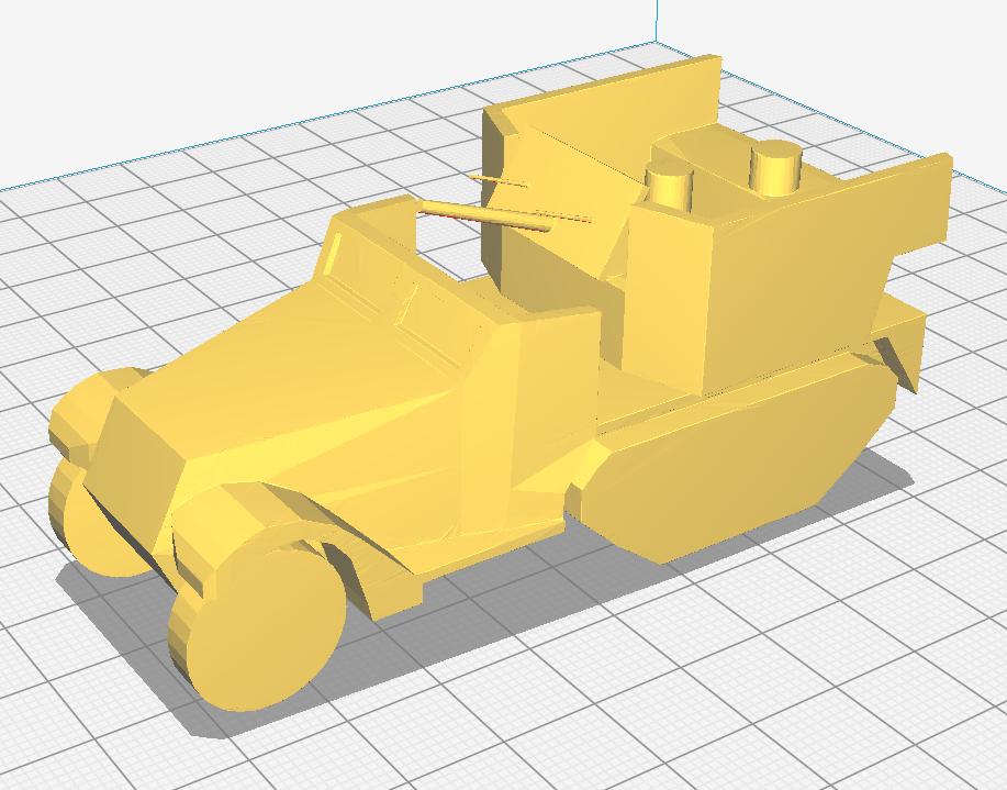 dcfegrbthnyju7.png Download STL file M15A1 CGMC SPAA Half-track • 3D printer model, AntarcticFox