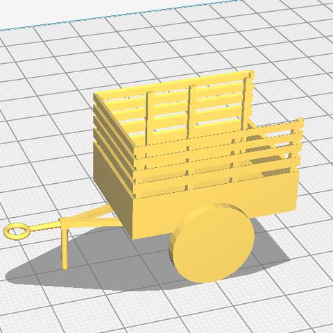 k,mjnhb.png Download STL file US Army 1-ton 'Ben Hur' trailer • 3D printer model, AntarcticFox