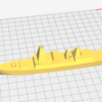 3D printer files Type 45 Destroyer, AntarcticFox