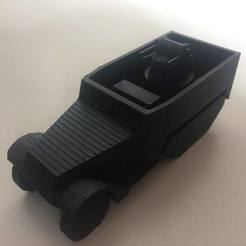 Télécharger fichier impression 3D M16 MGMC SPAA Half-track SPAA, AntarcticFox