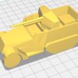 3D printer files M3 75mm GMC SPG Half-track, AntarcticFox