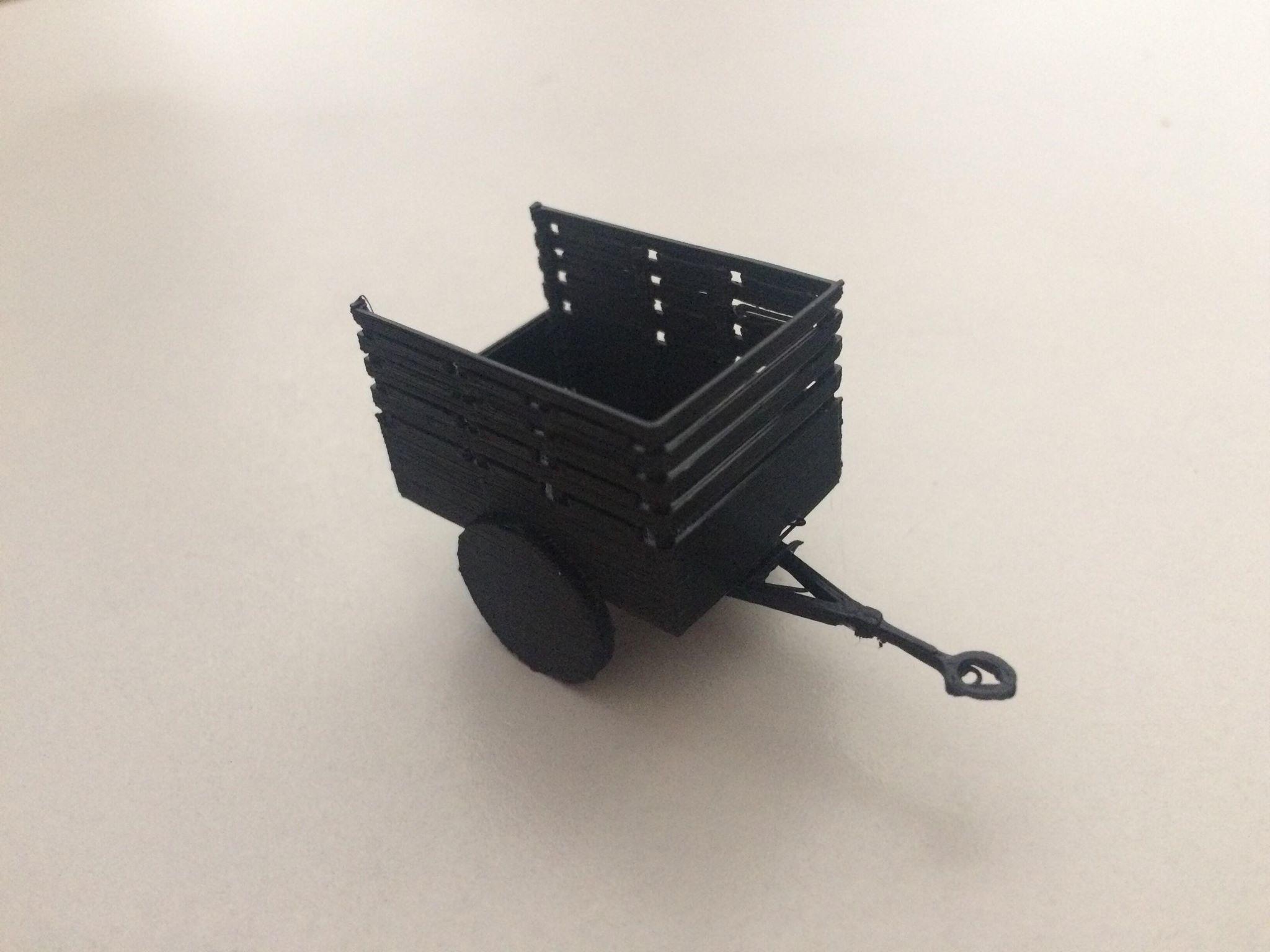 41446590_305620903503241_7420593990061260800_n.jpg Download STL file US Army 1-ton 'Ben Hur' trailer • 3D printer model, AntarcticFox