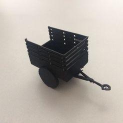 3D print model US Army 1-ton 'Ben Hur' trailer, AntarcticFox