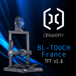Download 3D printer templates Firmware TFT Artillery X1 BL-Touch France, yep37