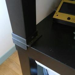 Télécharger fichier impression 3D Pied ikea lack, davy37150