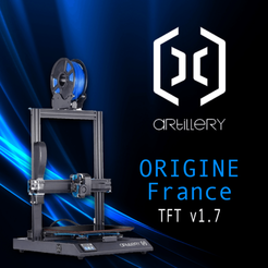 Sans-titre-2.png Download STL file Firmware TFT Artillery X1 France • 3D print object, yep37