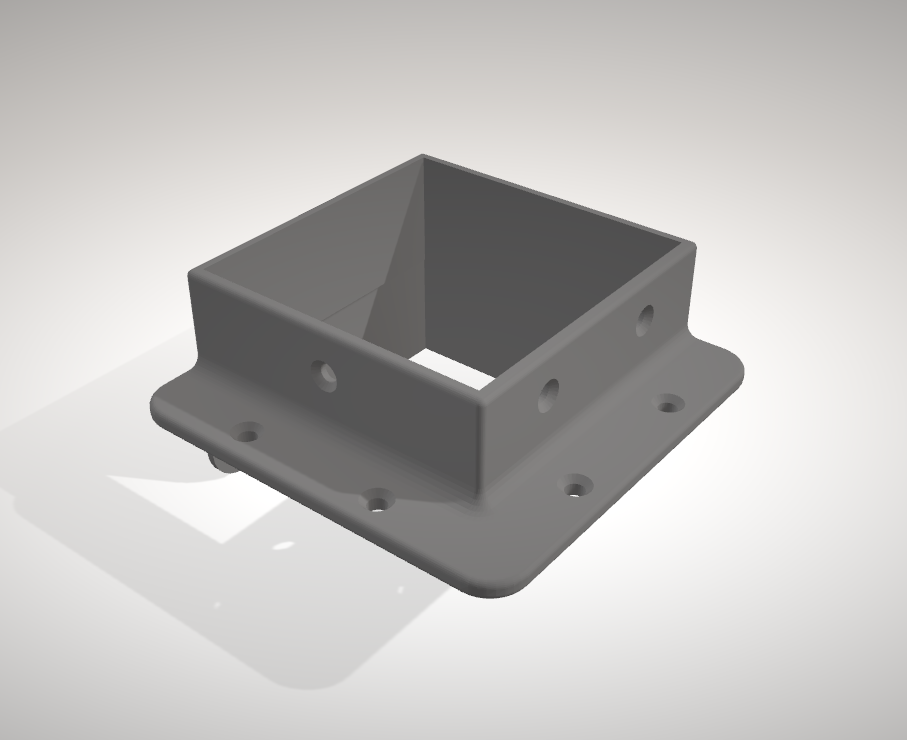 Sans titre.png Download STL file Ikea lack foot • 3D printable template, yep37
