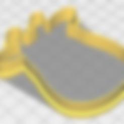 Impresiones 3D gratis Cortante galleta jirafa, matiassidelnik