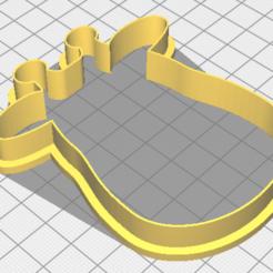 Download free 3D printer designs Giraffe cookie cutter, matiassidelnik