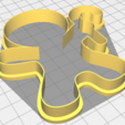 Free STL files Gingerbread cookie cutter, matiassidelnik