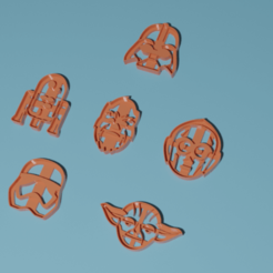 all.png Télécharger fichier STL Coupe-pâtes STAR WARS • Modèle pour imprimante 3D, matiassidelnik