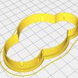 3D printing model Cutting biscuit Clouds, matiassidelnik