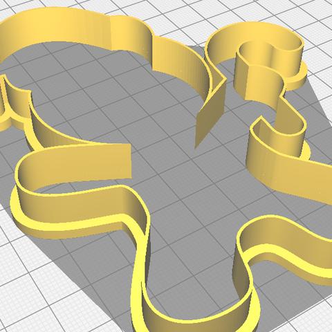 gingerbread-gorro.png Télécharger fichier STL gratuit Pain d'épices à l'emporte-pièce • Objet imprimable en 3D, matiassidelnik