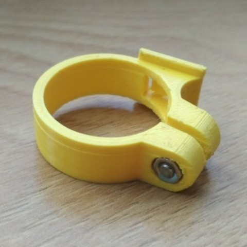 2a.jpg Download free STL file Cateye bike computer holder • 3D printing design, tomast