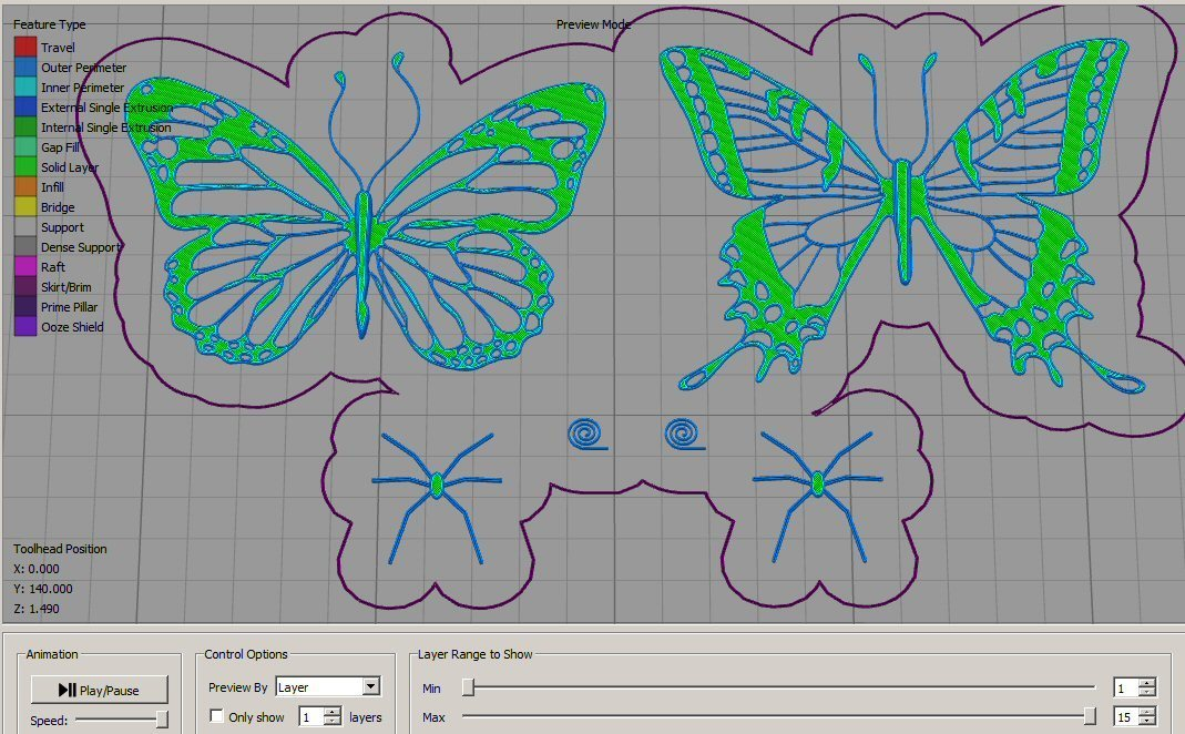 4.jpg Download free STL file Butterfly • 3D printer model, tomast