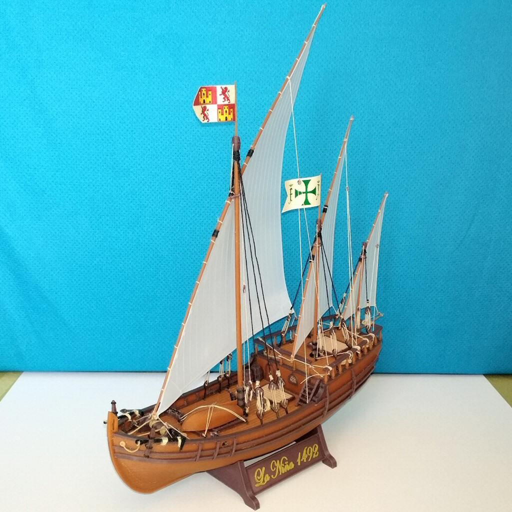 Image032.jpg Download free STL file Columbus caravel Nina (1492) • 3D printer template, tomast